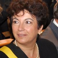 Françoise Pigeolet sur le siège de bourgmestre à Wavre