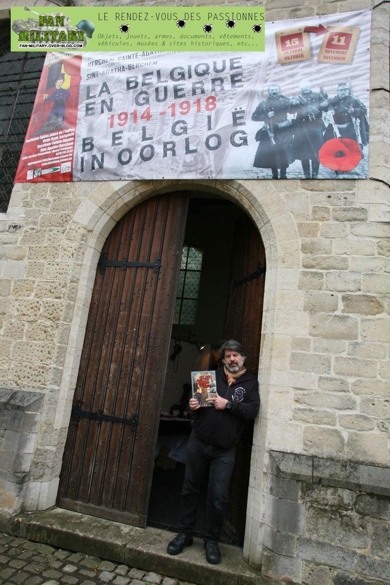 """Dernier jour! Exposition """"14-18, la Belgique en guerre"""""""