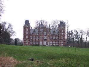 Le château de Vieusart de la famille de Dorlodot