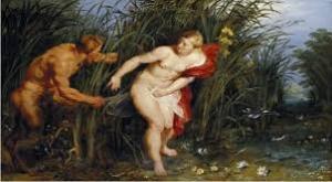 """Rubens: """"Pan&Syrinx: 1617"""""""