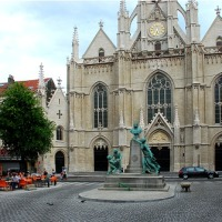 Le Père Norbert Maréchal quitte Saint-Boniface #bruxelles #ixelles