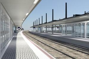 La gare telle qu'elle doit être après rénovation