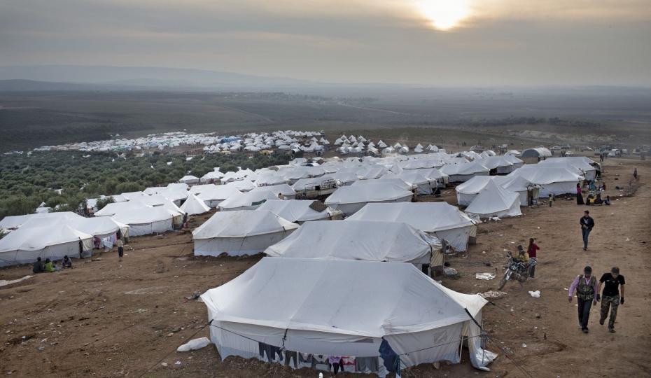 un camp de réfugiés syriens #syrie#politique #turquie   brusselsstar