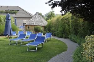 Quoi de mieux que le repos dans un beau jardin tranquille ?