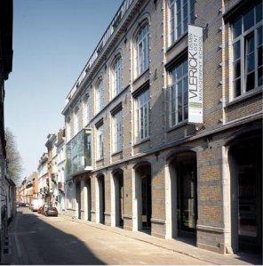De gebouwen van de Vlerick School of Management in Leuven