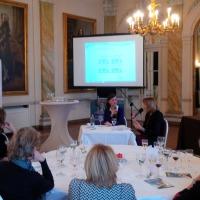 Trois dames d'exception au cercle ECOFIN WOMEN CLUB. #business #bruxelles