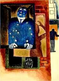 """""""Fenêtre dans la Nuit"""",  copyright:  Frits van den Berghe"""