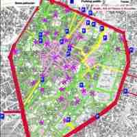 Bruxelles lance un site web pour sa future zone piétonne #bruxelles #pentagone