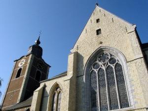 L'église Saint-Etienne à Braine-l'Alleud