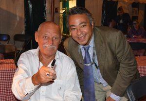 Le Grand Jojo de retour cette année (g.) et notre éditeur au Bal National 2013