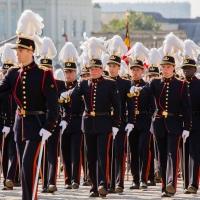 Le défilé militaire et civil du 21 juillet #21juillet #fetenationale #begov #monarchie #bruxelles