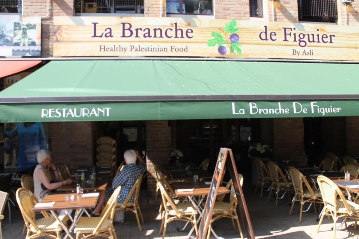 La Branche de Figuier : parfums du Moyen-Orient à Louvain-la-Neuve. #lln #brabantwallon #horec #resto