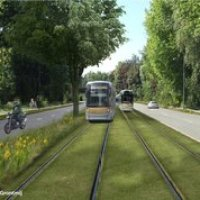 Le tram 9 arrive à Jette  #tram9 #stib #bruxelles #mivb