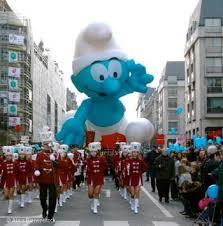 Fête BD Parade Schtroumpf