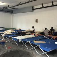 Weer nieuwe opvangplaatsen voor migranten in een WTC-gebouw. #brussel #immigrati #asiel