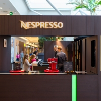 Pop-up boutique Nespresso  in het Woluwe Shopping Center #woluwe #business #nespresso