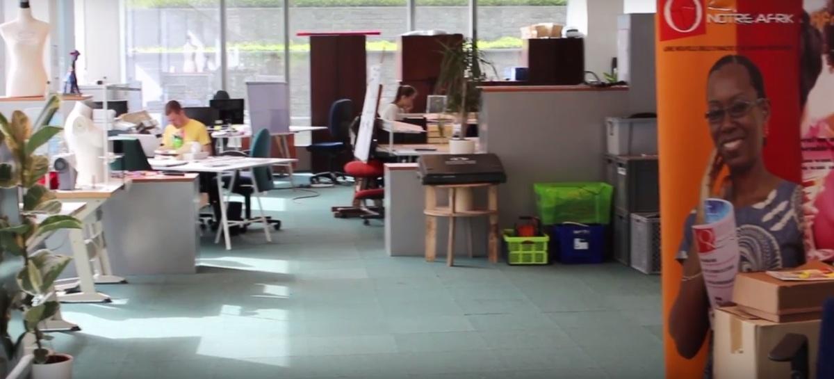 Le créateur  de la CREATIVE DISTRICT explique sa démarche #bruxelles #schaerbeek #entrepreneurship #culture