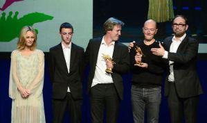 Bayard d'Or du Meilleur Film remis par Vanessa Paradis & Olivier Gourmet (c)