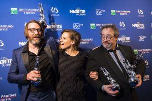 """6 """"Magritte"""" pour 3 Films (Wim Willaert, Veerle Baetens & Jaco Van Dormael) (c) """"Académie André Delvaux"""""""