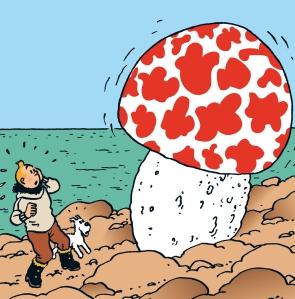 """""""L'Etoile mystérieuse"""" (c) """"Hergé - Moulinsart"""""""