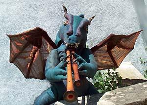 "Le Dragon-Musicien d' ""Abaldir"""
