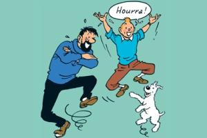 """Expo prolongée jusqu'au 06/07 (c) """"Hergé-Moulinsart"""" 2016"""