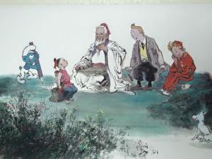 """Confusius, Zisi et la BD belge"" (Guo Defu)"