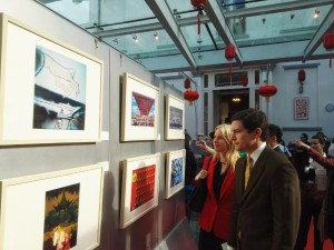 "Vernissage de l' ""Incroyable Shanghaï"""