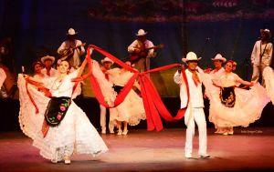 Fiesta Latina Mexique Ruban rouge
