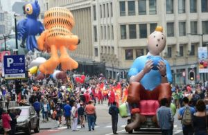 """Balloon's Day Parade"" (c) ""AFP"" / Emmanuel Dunand"