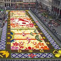 20ème «Tapis de Fleurs» de la Grand'Place
