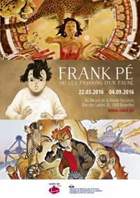 Frank Pé au «Musée de la BD», jusqu'au 04Septembre