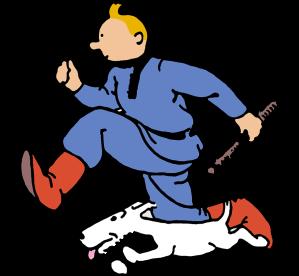 """(c) """"Hergé-Moulinsart"""" 2016"""