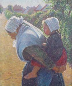 """Mane Becube"", Yvonne Serruys, 61 x 72,5 cm"