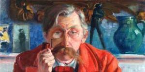 """""""Emile Verhaeren"""", Théo Van Rysselberghe"""