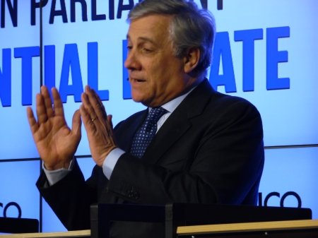 Tajani – le président du Parlementeuropéen