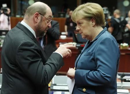 Berlin: Schulz à lachancellerie