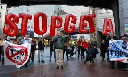 CETA a été adopté àBruxelles