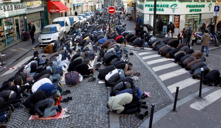 Européens contre l'immigration musulmane