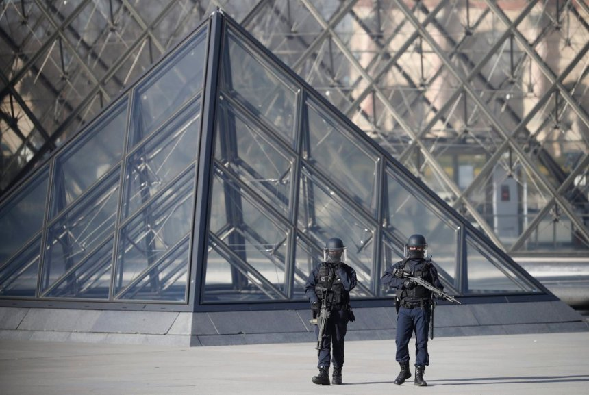 Paris Louvre attack