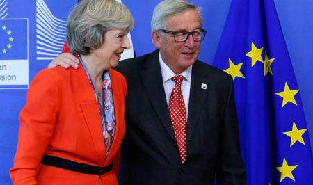 Juncker souhaite le retour desBritanniques
