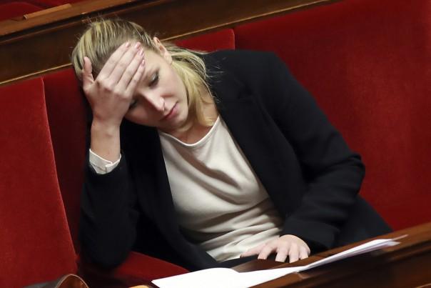 Marion Le Pen sad