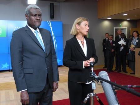 L'UE pour partenariat avec L'UnionAfricaine