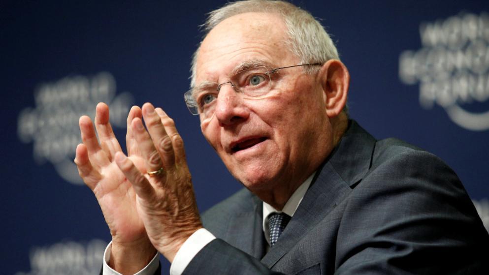 Schäuble pour un parlement eurozone
