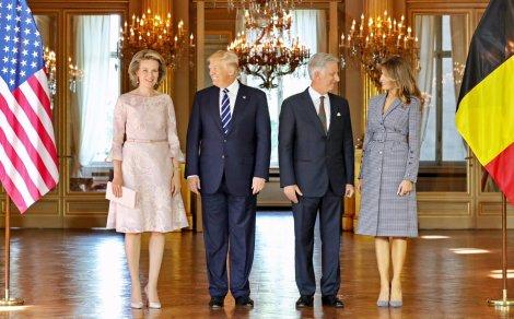 Trumps au Palais deBruxelles