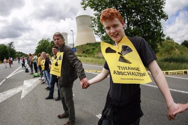 50 000 contre deux réacteurs nucléaires belges