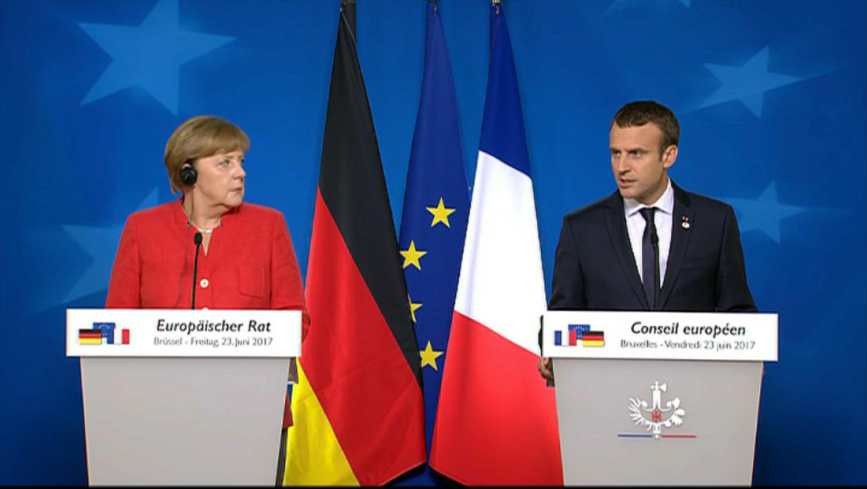 Macron-Merkel -« c'est plus qu'un symbole »