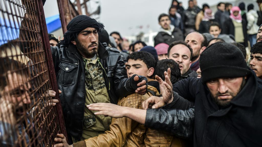 Une rixe des syriens au coeur de Bruxelles