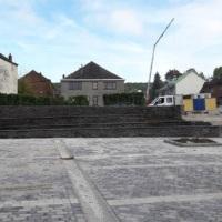 BEI: La nouvelle place de Heer-sur-Meuse, un projet financé par la BEI et Belfius