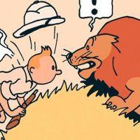 """""""Tintin"""", pour ses 90 Ans : """"Tintin au Congo-Le Trait original"""", au """"Musée Hergé"""", jusqu'au 10 Février"""